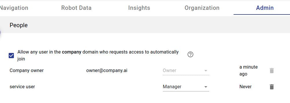 API requests